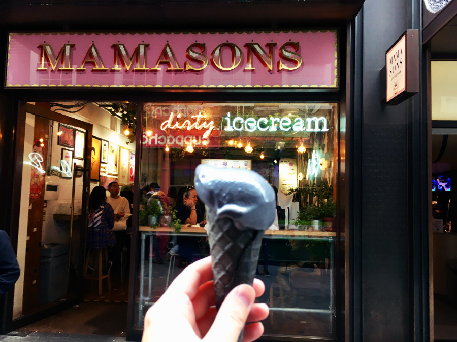 Black Ice Cream Speciality London