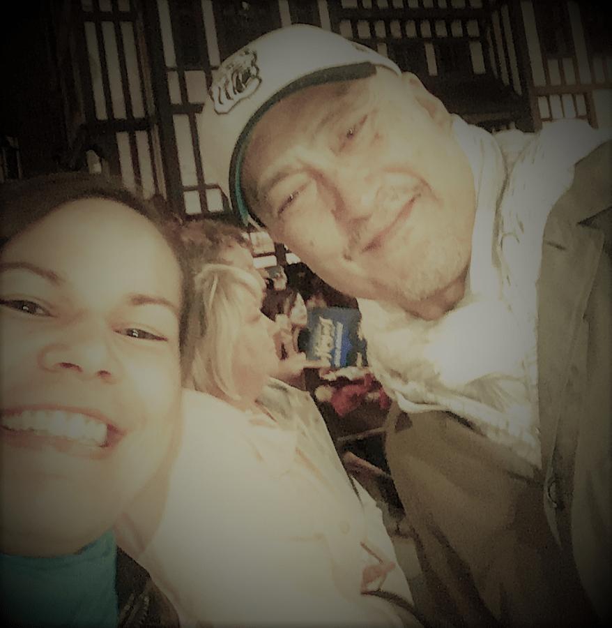 Selfie with Ken Watanabe