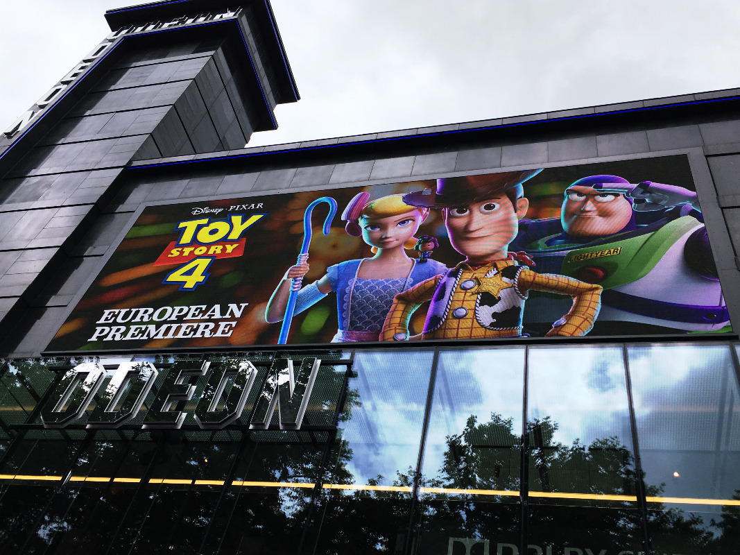 Toy Story 4 European Premiere poster
