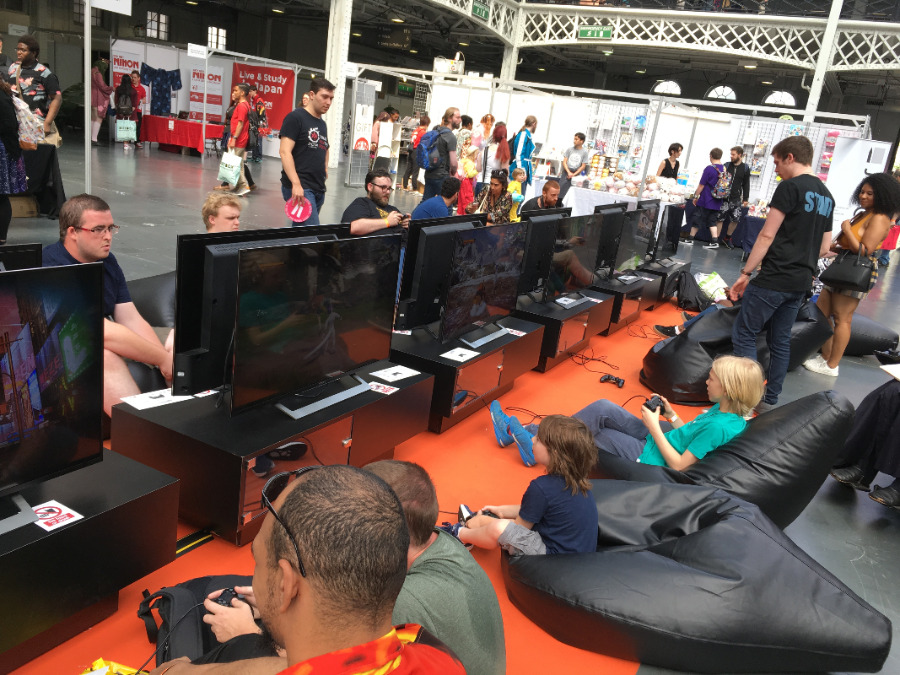Video Game Section at HYPER JAPAN Festival