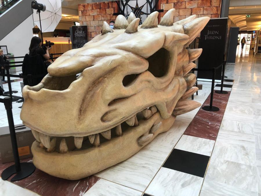 Game of Thrones Dragon Skull