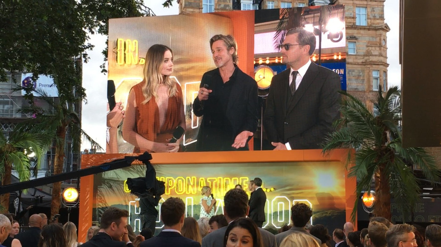 Once Upon a Time in Hollywood London Premiere