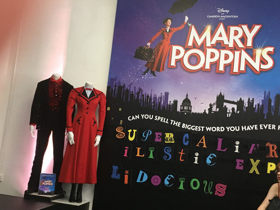 Disney Summer Pop Up Exhibition - Costumes from Mary Poppins West End Musical