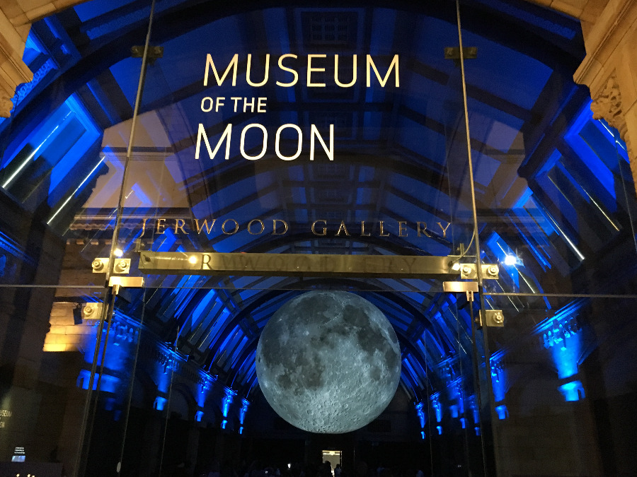 Museum of the Moon at Natural History Museum London