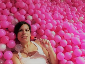 Selfie Factory Pink Ball Pit