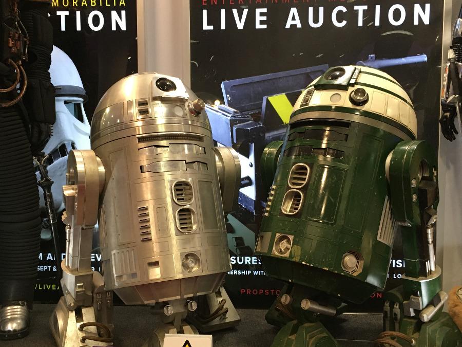Live Auction Prop Store Exhibition