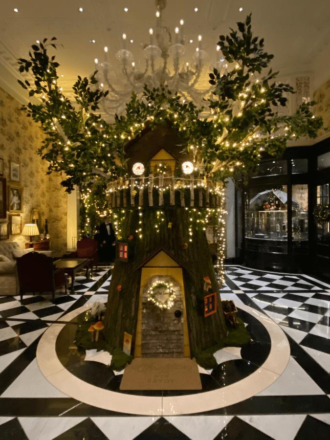 Fairy Oak Tree at Savoy