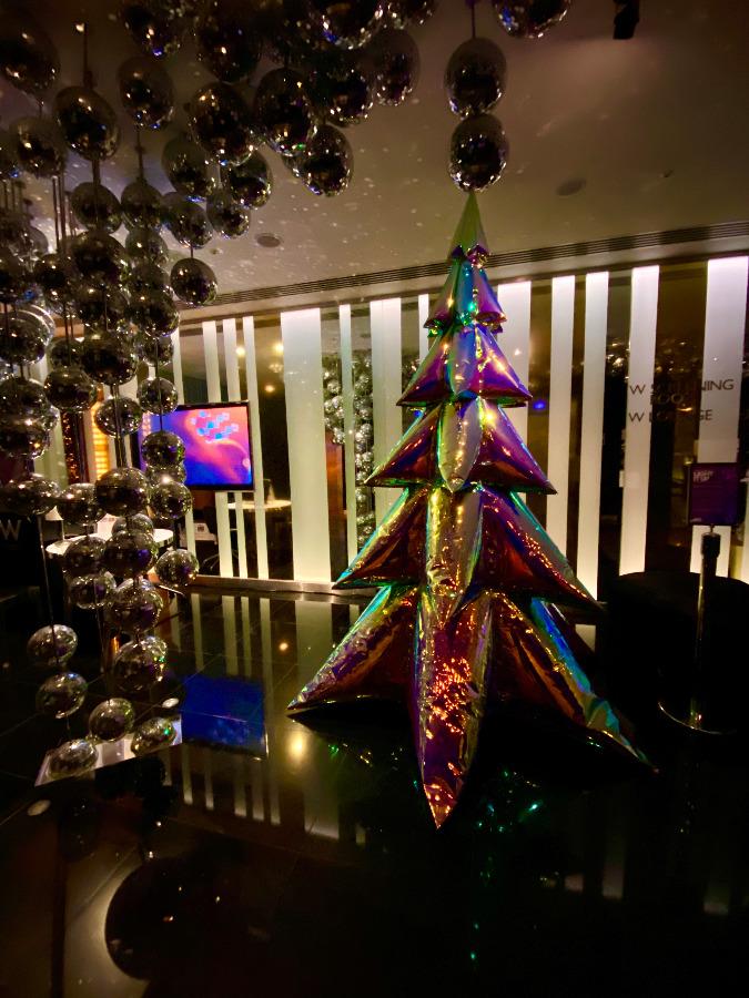 Inflated Christmas Tree