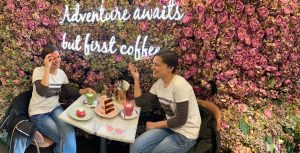 London's pinkest cafe