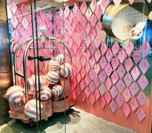 Pink Cafe at St Pancras - EL&N Cafe