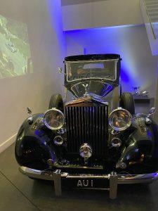 James Bond - Goldfinger's majestic Rolls-Royce Phantom III