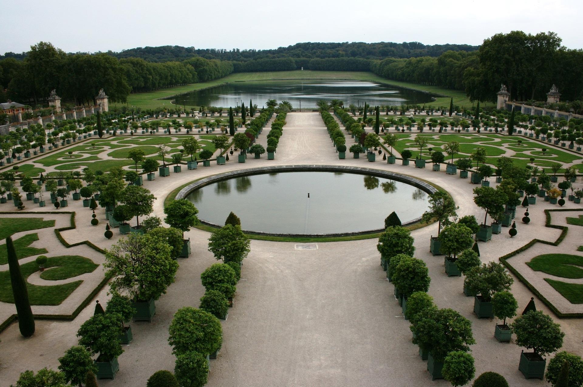 Garden of Palace of Versailles