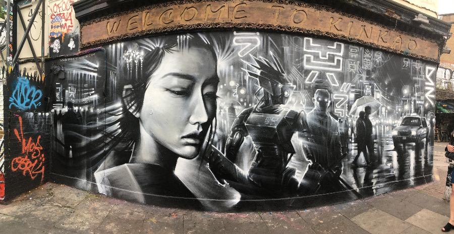 London's most Instagrammable graffiti spots - Shoreditch