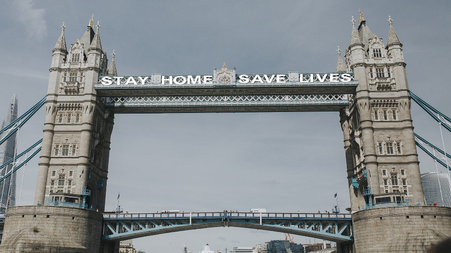 Stay Home Save Lives London
