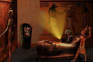 Tutankhamun virtual tour while self-isolated