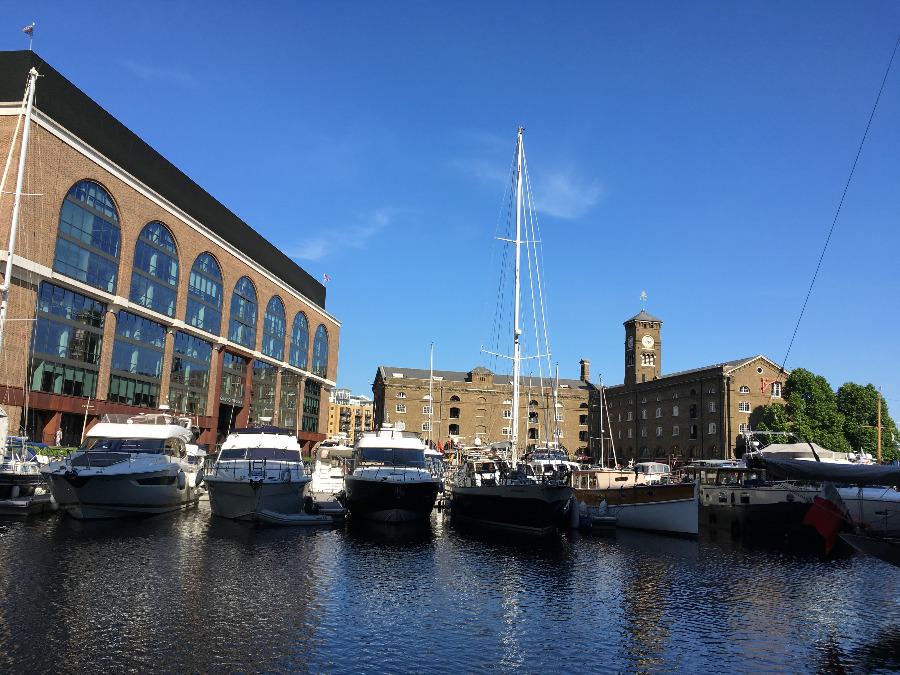 A Marine Oasis - St Katharine Docks