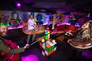 Creative social-distancing at Maggie's Club London