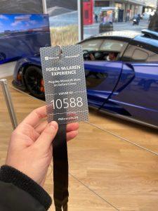 Urban Adventurer - Virtual McLaren drive at Microsoft Shop