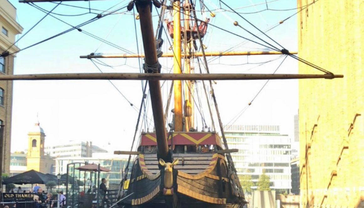 Urban Adventurer - Where to take cool photos in London - The Golden Hinde 2