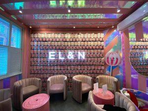 Elan Cafe Candy Wall - Brompton Road
