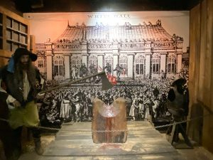 Execution Scene at The Clink Prison Museum London