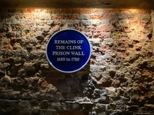 Remains of The Clink Prison Museum Wall
