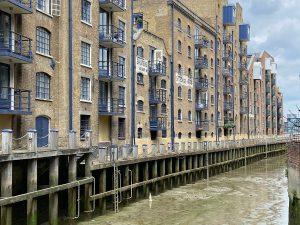 River Neckinger in London Today
