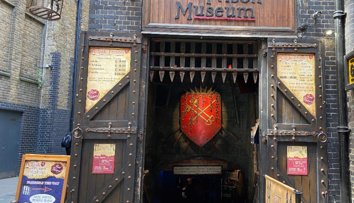 The Clink Prison Museum Front Door