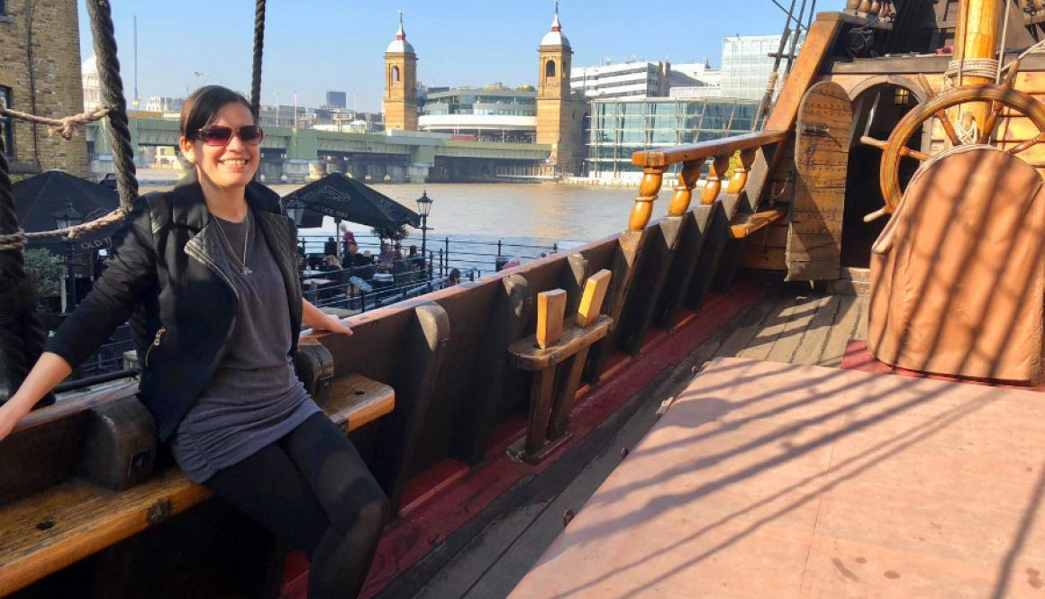 The First English Ship That Sailed Around the World – The Golden Hinde