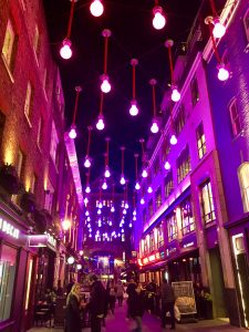 Colourful Carnaby Street London