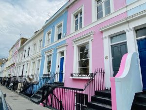 Colourful Notting Hill