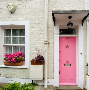 Dreamy pink house - Notting Hill London