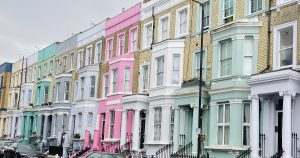 One of London's most colourfull streets - Portobello Road
