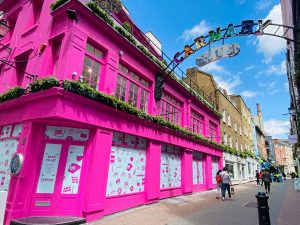Colours on Carnaby Street