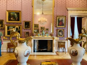 Pink room at The Wallace Collection London