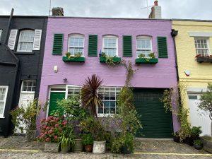 Purple house at Paddington
