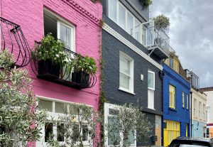 The colours of St Lukes Mews