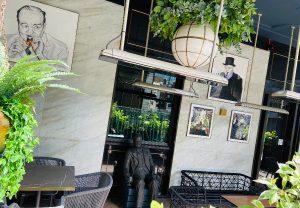 Churchill's Statue at The Churchill Bar