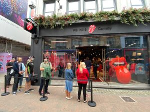 Grand Opening of The Rolling Stones Shop London