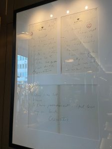 Letters Churchill wrote to his wife - The Churchill Bar