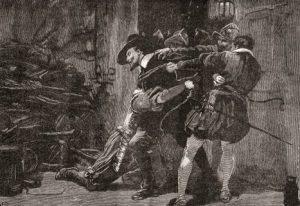 Arresting Guy Fawkes