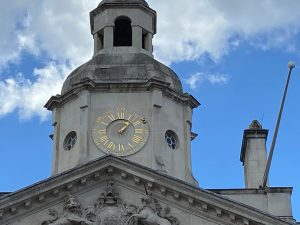 Clock Marks the Time of King Charles I Execution