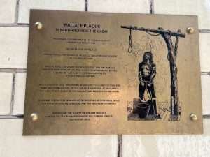 The Elms Smithfield - Execution Scene of Sir William Wallace