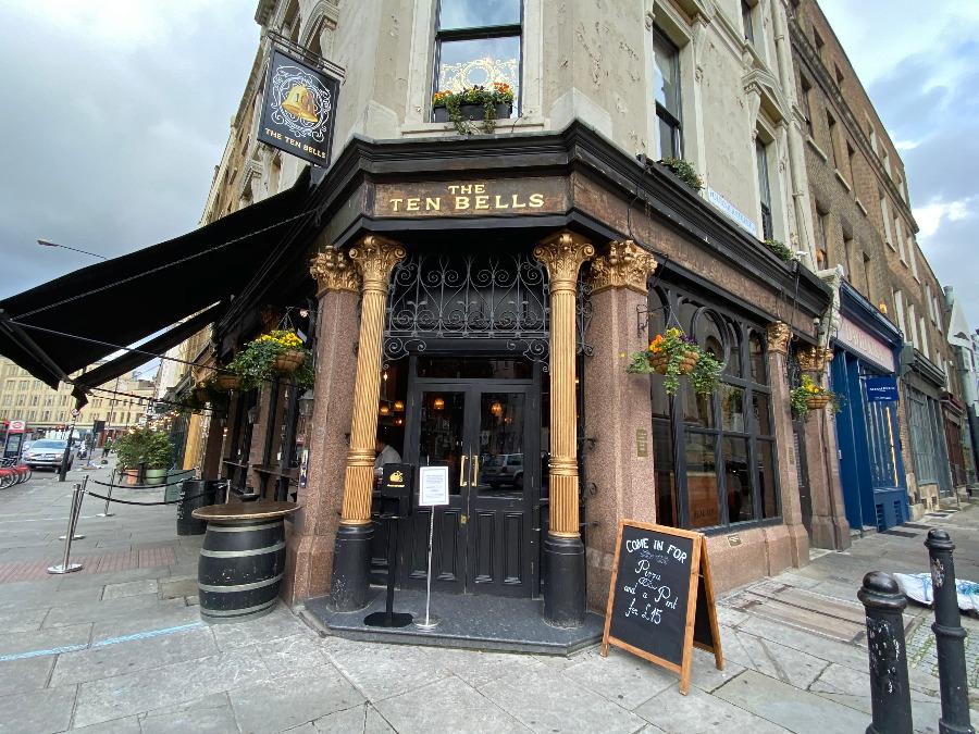 The Ten Bells Pub - London's Most Haunted Pub
