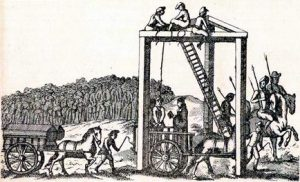 Tyburn Tree Execution Scene London