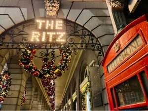 The Ritz London Christmas Decoration