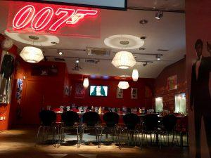 Planet Hollywood London Bond Room