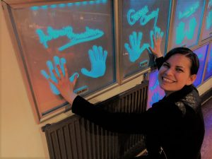 Planet Hollywood London Wall of Handprints