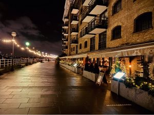 Butlers Wharf Restaurants with Outdoor Seating