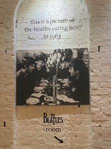 Dine at the same spot where The Beatles did